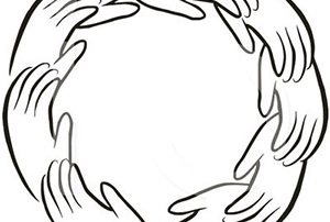 hands forming a circle of completion